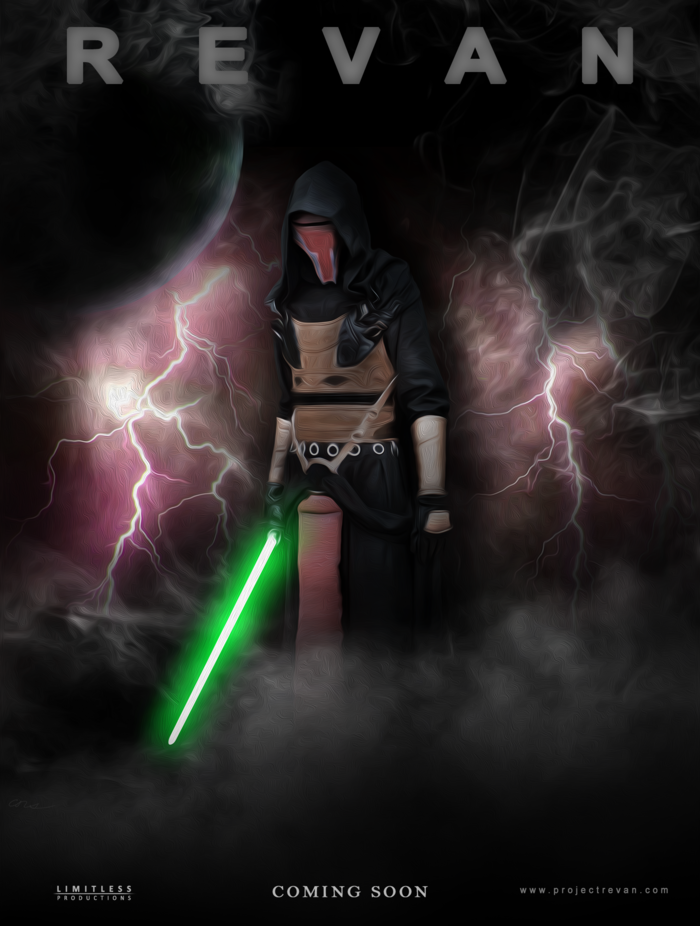 Revan in smoke - Concept poster design.