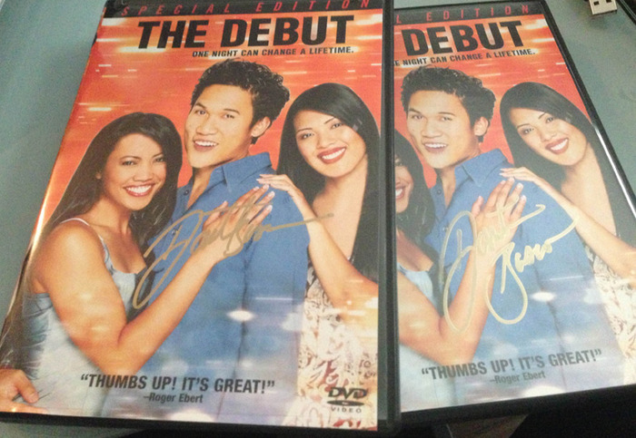 Autographed by lead actor DANTE BASCO