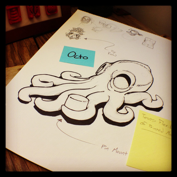 'Octo' - Demos flexibility.