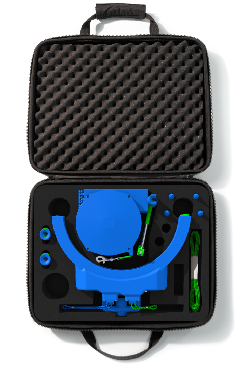 Sample Case with Computer-Generated Kit Contents