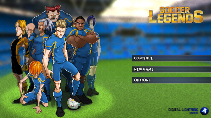 Soccer Legends RPG tactics game on Kickstarter