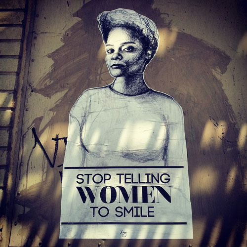 Stop Telling Women to Smile in Brooklyn, NY