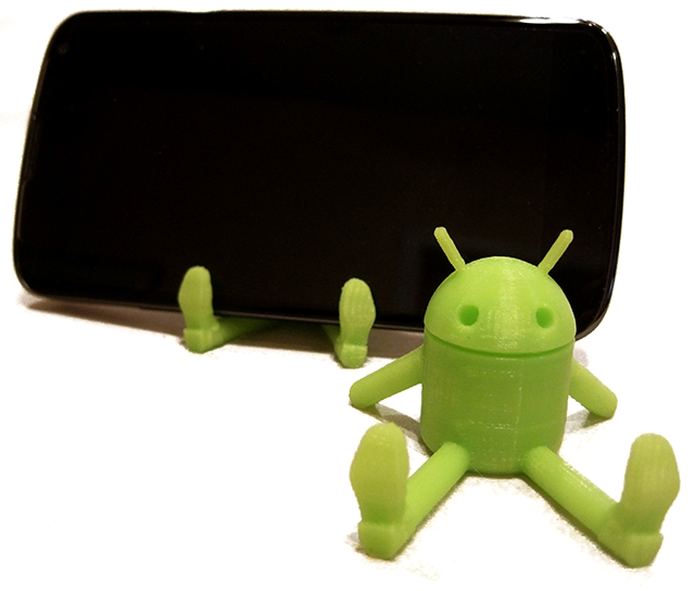 """""""Mikey"""" - the 3D printed phone stand"""