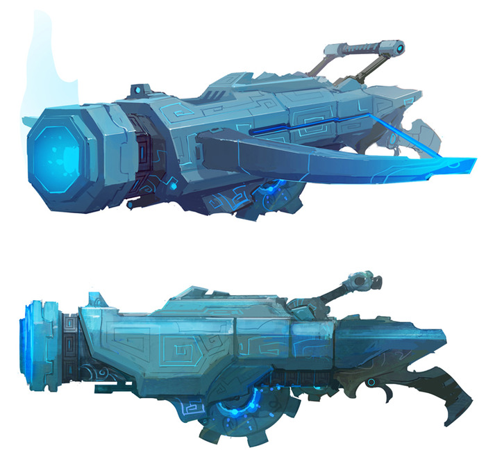 Witch-Cannon Concept Art