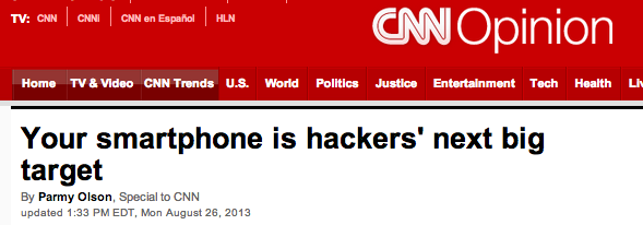 CNN - Smartphone Security