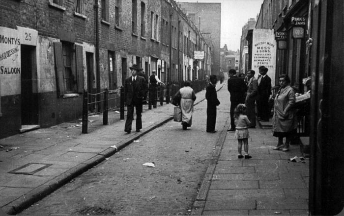 Whitechapel in the East End of London. Our action takes place in the squalid backstreets of this notorious area, and also in the scenic Yorkshire village of Cottingley, home of the infamous fairy photographs!