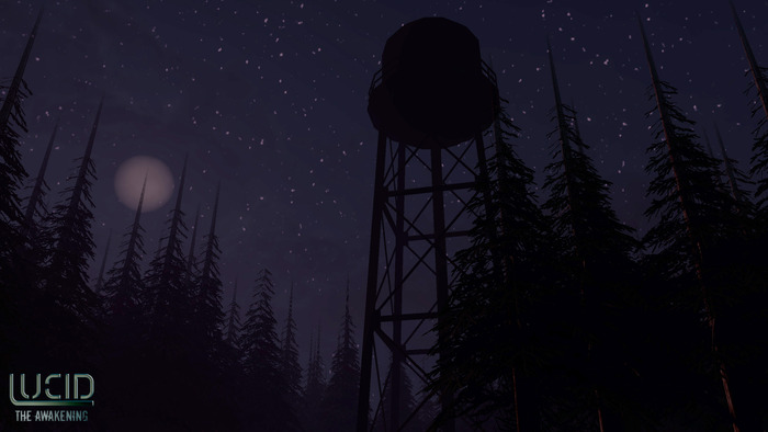 Water Tower in the Woods Level