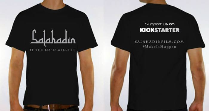 If the Lord Wills it Salahadin T-shirt