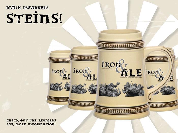 Steins! Drink Dwarven!