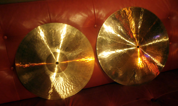 My Paiste Signature crash cymbals - 2 of the rewards...