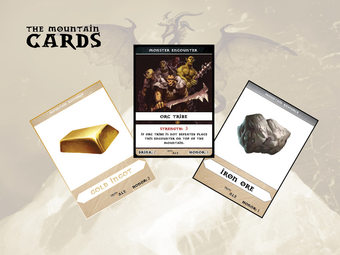 Mountain Card Samples