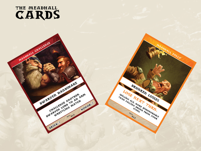 Meadhall Card Samples