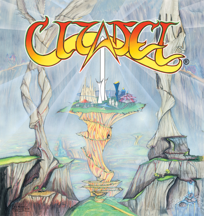 Original 1990 CD Pressings of 'The Citadel of Cynosure and Other Tales' disc, featuring my art, lyrics and music, guitar and vocal work