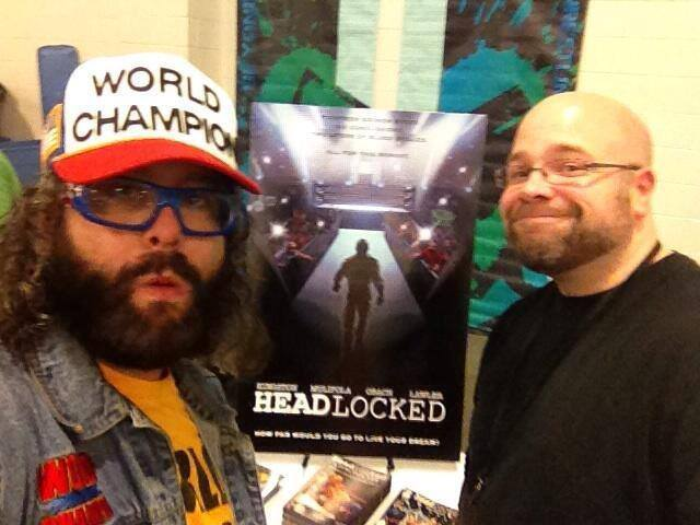 30 Rock's Judah Friedlander & Headlocked creator Mike Kingston