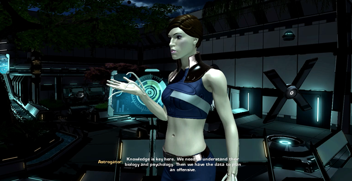 Pre-Alpha Prototype: A Player Character responding to the situation.