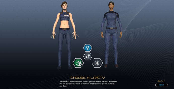Pre-Alpha: Character Creation
