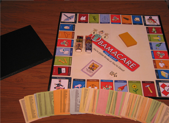 Obamacare The Game Prototype.