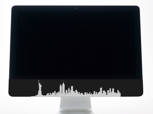 New York City skyline example