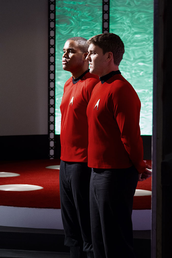 Security in the Transporter Room
