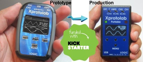 Xprotolab Portable on KickStarter