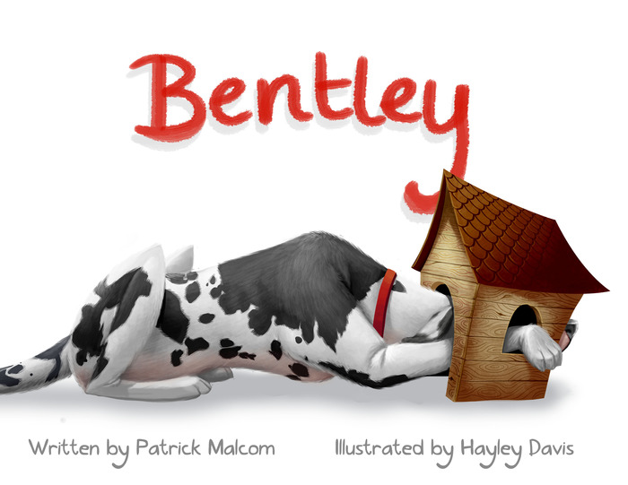 Front Cover of Bentley's Children's Book