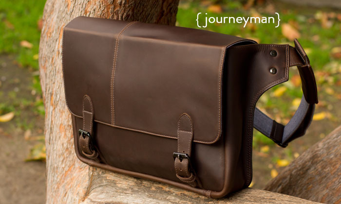 The Journeyman Messenger from Intrepid Bag Co.