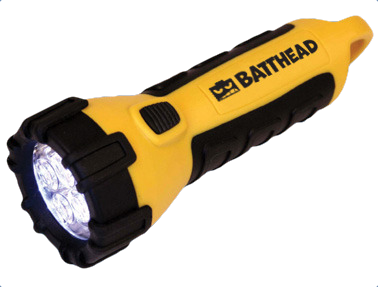Our top reward levels include a Batthead flashlight