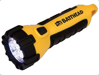 Our top reward levels include a Batthead flashlight