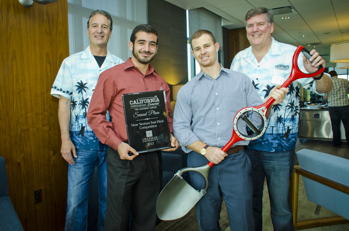 The First Spade - Winners at Chapman Investor Fast-Pitch Competition
