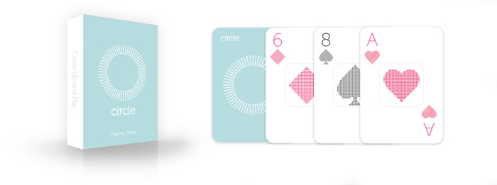 "New Reward: Custom-designed, ""Circle"" branded Deck of Cards"