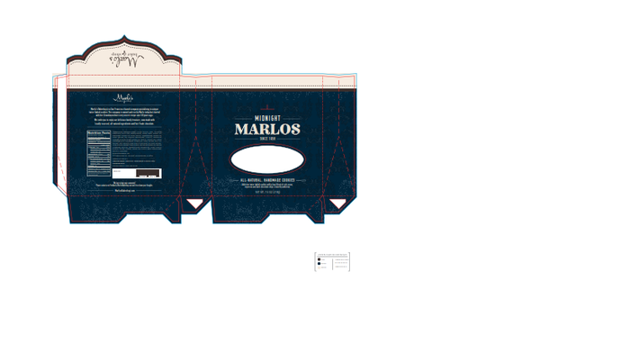 Mockup of our packaging for the Midnight Marlo 4-pack
