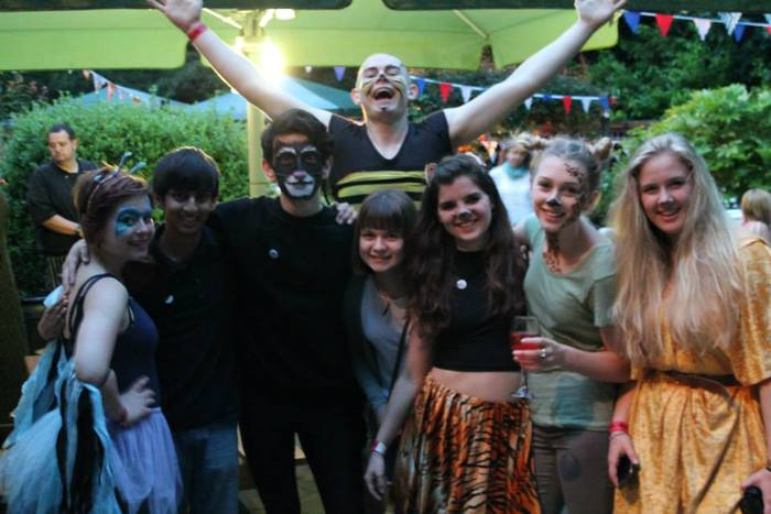 The company and friends having a fantastic time at ZooFest - our launch event this Summer.