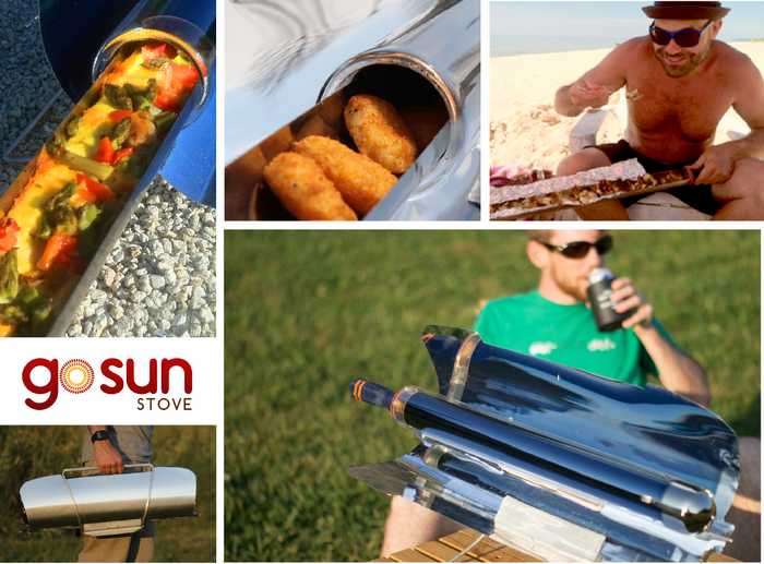 Gosun stove portable high efficiency solar cooker by for Gosun stove