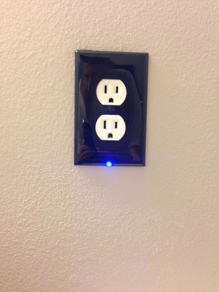 Illumiplate The Best Night Light Outlet Cover Plate By