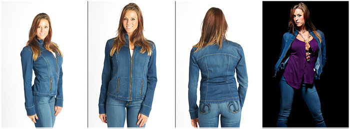 Stretch Goal - Light Stretch Denim Jacket choice available