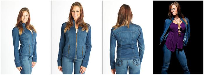 Stretch Goal - Light Stretch Denim Jacket choice available