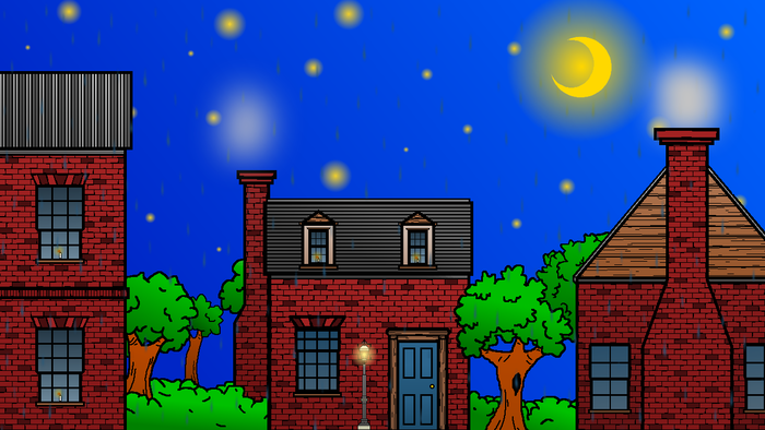Outside of Darkwood Manor