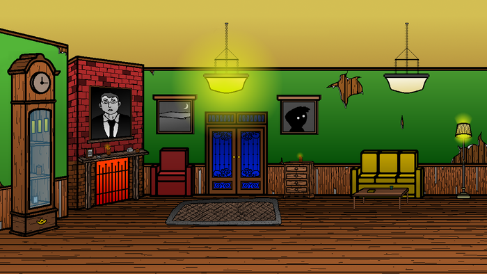 Foyer of Darkwood Manor