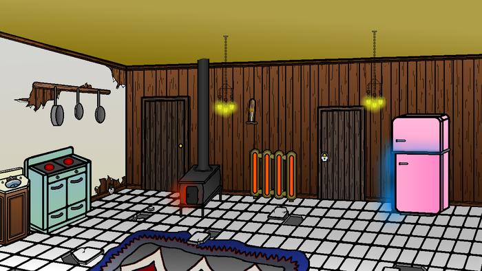 Kitchen of Darkwood Manor