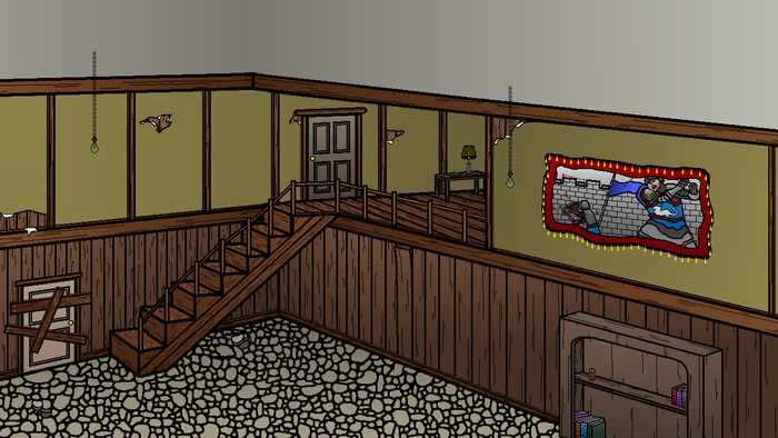 Staircase in Darkwood Manor