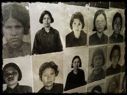 Women at S-21 Prison. Photo is from the archives of the Documentation Center of Cambodia