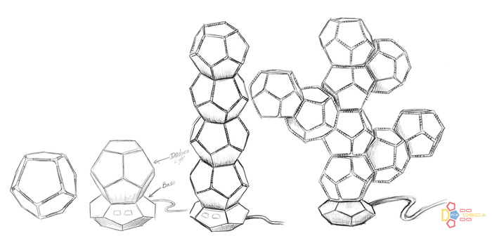 Initial Product Concept Sketches (April 2013)