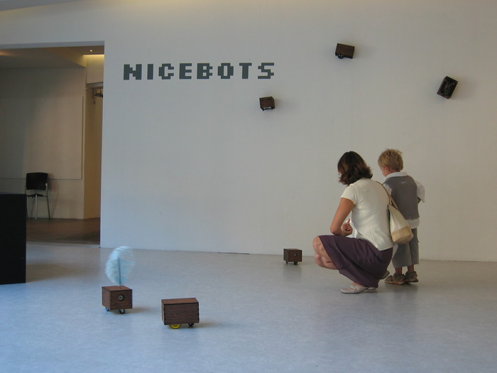 Nicebots at Musée d'Art Moderne et d'Art Contemporain - Nice, France (2004)
