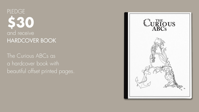 $30 reward: The Curious ABCs Hardcover Book.