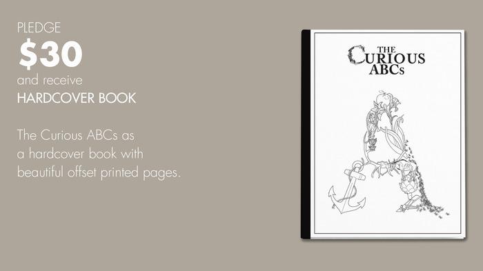 $30 reward: The Curious ABCs Hardcover Book.