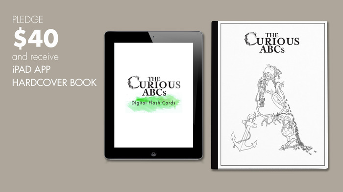 $40 reward: The Curious ABCs iPad App and Hardcover Book.