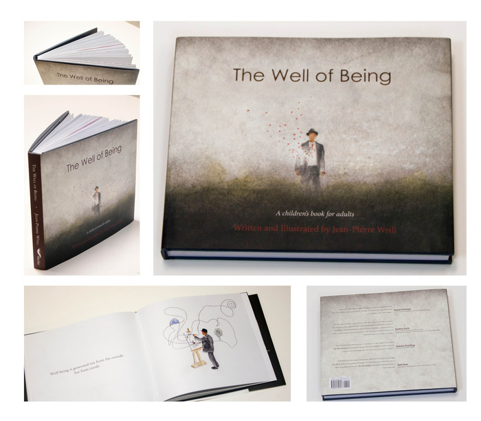 With any donation of $65 or more you will receive a beautiful hardcover copy of The Well of Being