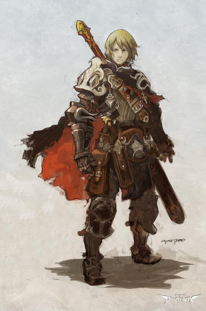 Prince Marcus Stern, Knight-Templar of Izaria