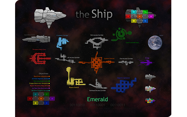 """the Ship"" Poster and Wallpaper, Low-Res Version"