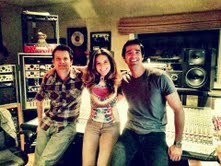 Warren Huart, Me & Phil Allen at Spitfire Studio in Laurel Canyon